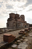 Kerk van St Panteleimon, Ohrid, Macedonië Royalty-vrije Stock Fotografie