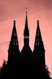 Kerk van St Peter en Paul stock foto's