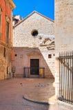 Kerk van St Pietro Barletta Puglia Italië royalty-vrije stock afbeeldingen