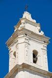 Kerk van St Pietro Molfetta Puglia Italië stock fotografie