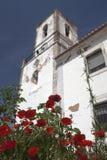 Kerk van St. Sebastian (Igreja DE Sao Sebastiao) Lago, Portugal Stock Afbeeldingen
