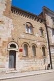 Kerk van St Severino San Severo Puglia Italië Stock Foto