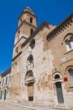 Kerk van St Severino San Severo Puglia Italië Stock Foto's