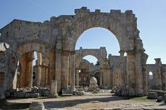 Kerk van Stylites van Heilige Simeon Stock Foto's
