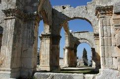 Kerk van Stylites van Heilige Simeon Royalty-vrije Stock Afbeelding