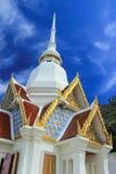Kerk van Tempel Khao Takiab royalty-vrije stock foto's