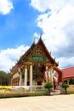 Kerk van Thaise tempel in Thailand Royalty-vrije Stock Foto's