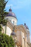 Kerk van Transfiguratie in Lviv, de Oekraïne Stock Afbeelding
