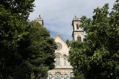 Kerk van Triada van Ayia de Griekse Orthodoxe in Istanboel Stock Fotografie