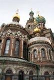 Kerk van Verlosser op Gemorst Bloed Stock Foto