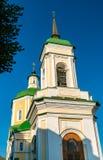 Kerk van Verrijzenis in Voronezh, Rusland stock afbeelding