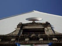 Kerk van voorgevel Stock Afbeeldingen
