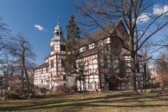 Kerk van Vrede - de Plaats van de Erfenis van de Wereld van Unesco Stock Fotografie