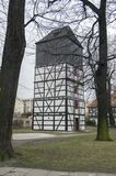Kerk van Vredes houten erfenis in Swidnica in Polen royalty-vrije stock foto