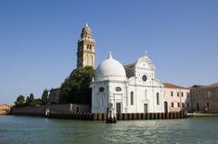 Kerk in Venetië, Italië Stock Afbeeldingen
