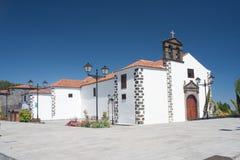 Kerk in Vilaflor, Tenerife Royalty-vrije Stock Foto
