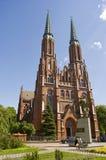 Kerk in Wasaw Stock Foto
