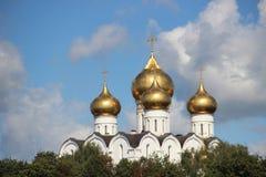 Kerk in Yaroslavl Stock Afbeelding