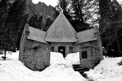 Kerk in Yosemite Royalty-vrije Stock Afbeeldingen