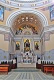 Kerk in Zentralfriedhof, Wien Royalty-vrije Stock Foto's
