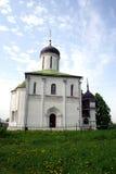 Kerk in Zvenigorod. Royalty-vrije Stock Foto's