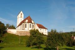 Kerk in Zwitserland Royalty-vrije Stock Afbeelding