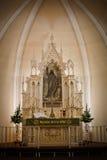 Kerkaltaar Stock Afbeelding