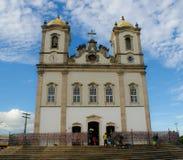 Kerkarchitectuur Pelourinho Salvador Brazil Royalty-vrije Stock Foto