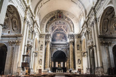 Kerkcorpus christi in Bologna Stock Foto's