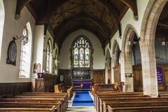 Kerkdecor Stock Afbeeldingen