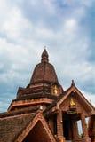 Kerken, Boeddhistische tempels in de provincie Loei Stock Foto