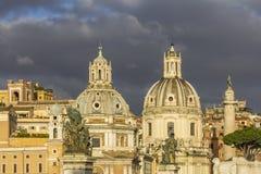 Kerken in Rome Royalty-vrije Stock Afbeeldingen