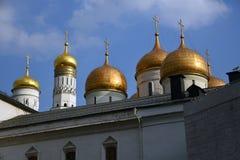 Kerken van Moskou het Kremlin De Plaats van de Erfenis van de Wereld van Unesco stock foto's