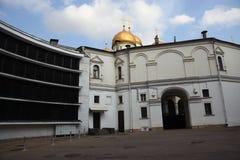 Kerken van Moskou het Kremlin De Plaats van de Erfenis van de Wereld van Unesco stock foto