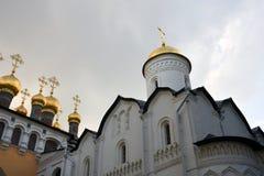 Kerken van Moskou het Kremlin De Plaats van de Erfenis van de Wereld van Unesco royalty-vrije stock foto's