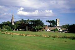 Kerken van Skerries Stock Afbeeldingen