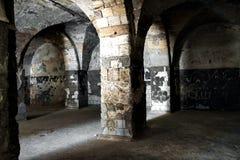 Kerker van het Oude Kasteel Stock Afbeeldingen