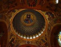 kerkgeschiedenis van de het detailkerk van de de bouwarchitectuur de lichte godsdienst Royalty-vrije Stock Afbeeldingen