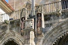 Kerkhof van de Kathedraal van Braga Stock Fotografie