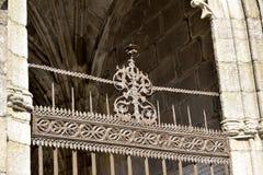 Kerkhof van de Kathedraal van Braga Stock Foto