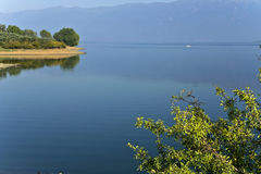 Kerkini lake at Greece Royalty Free Stock Images