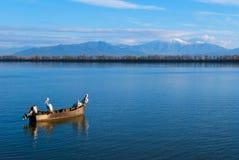 Kerkini lake in Greece Stock Image