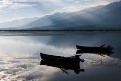 Kerkini lake in Greece Royalty Free Stock Images