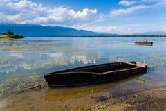 Kerkini lake in Greece Royalty Free Stock Photos