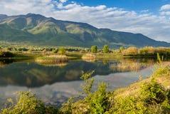 Kerkini Lake in Greece Stock Photography