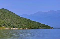 Kerkini lake at nord Greece Royalty Free Stock Photography