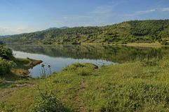 Kerkini See am nord Griechenland Stockbild