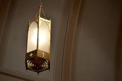 Kerklicht Stock Foto