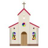 Kerkpictogram Stock Foto's