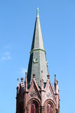 Kerkspits royalty-vrije stock foto